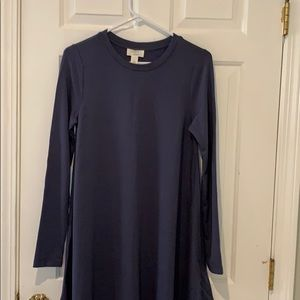 Lounge fleece lined dress
